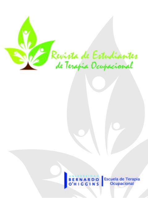Ver Vol. 5 Núm. 1 (2018): Revista de Estudiantes de Terapia Ocupacional